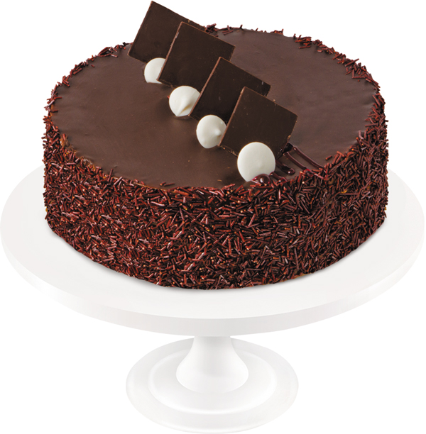 Delicate walnut-flavored pie shells with layers of boiled condensed milk, combined with chocolate icing, create a unique taste. The cake is decorated with chocolate ornaments.